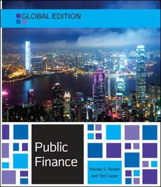 PUBLIC FINANCE ROSEN GAYER