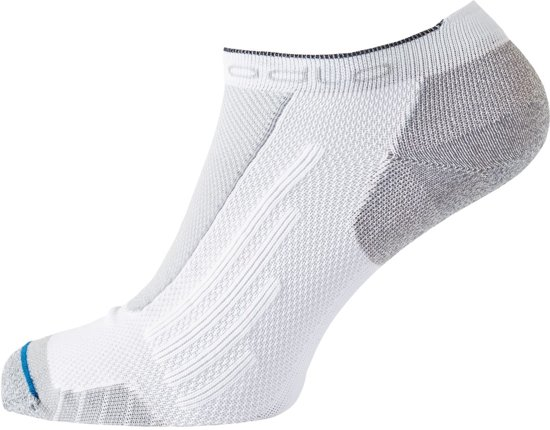 Odlo Socks Low Low Cut Light Unisex Sportsokken - White - Maat 39-41