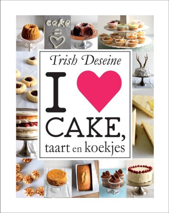 I love cake, taart en koekjes