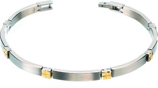 Boccia Titanium 0329-04 Armband - Titanium - Bicolor