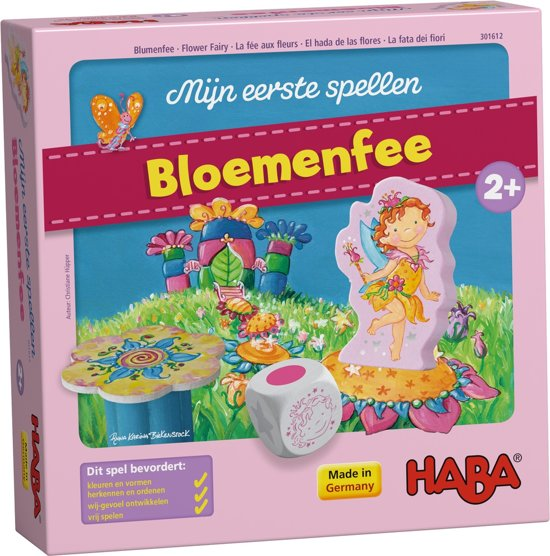 Afbeelding van het spel HABA Mijn eerste spellen - Bloemenfee - 301615