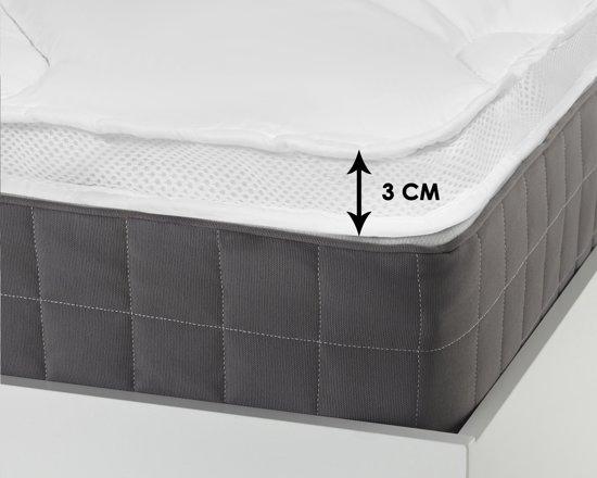 Sleeptime 3D AIR Hotel Matras Topper White-90 x 200 cm