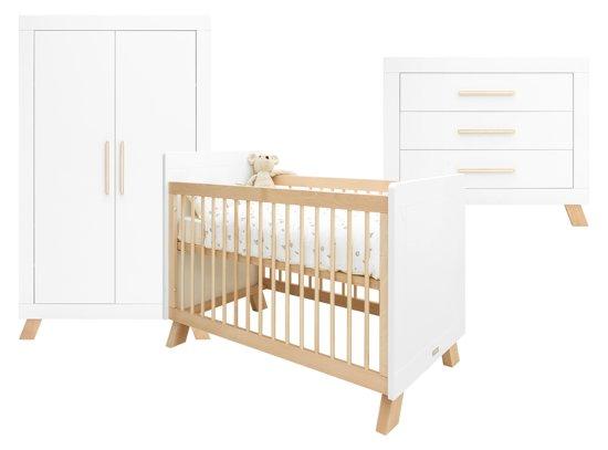 Bol.com bopita babykamer lisa 3 delige bed commode 2