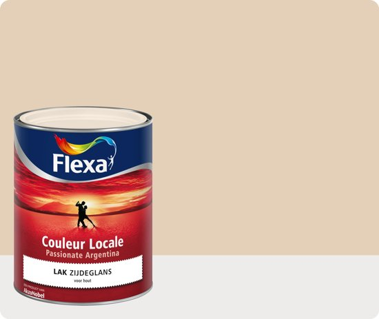Flexa Couleur Locale - Lak Zijdeglans - Passionate Argentina Mist  - 7045 - 0,75 liter
