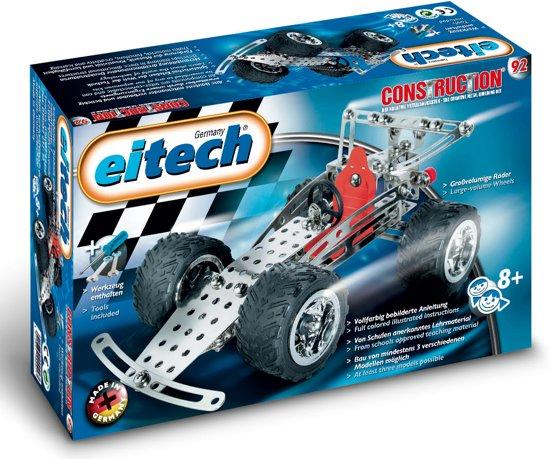 Eitech Constructie - Bouwdoos - Race wagen/Quad - 3 Modellen