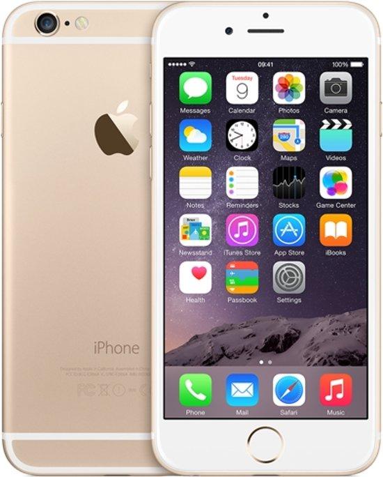 Apple iPhone 6 - 64 GB - goud