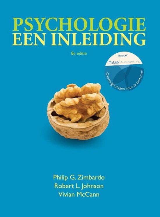 Psychologie, een inleiding, 8e editie met MyLab NL toegangscode - Philip G. Zimbardo
