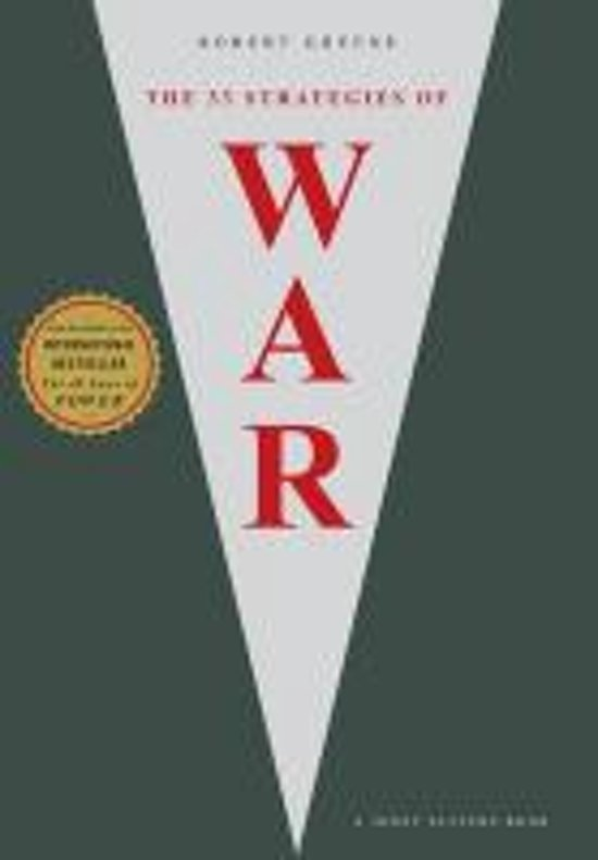 Boek cover The 33 Strategies of War van Robert Greene (Paperback)