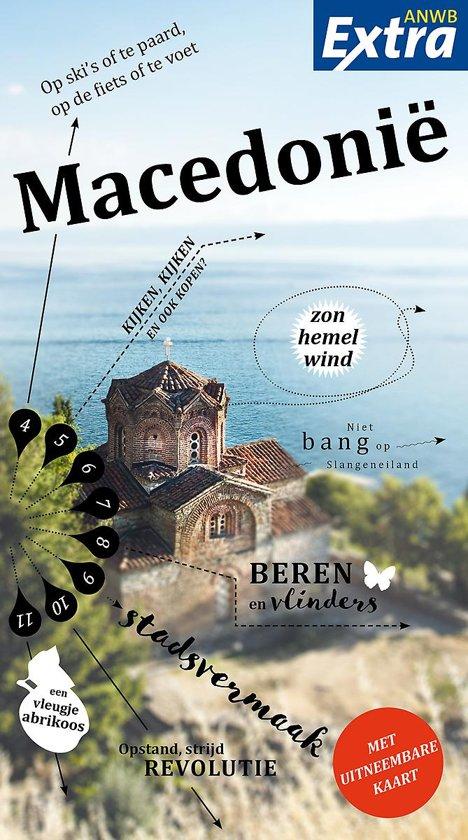 ANWB reisgids Macedonië