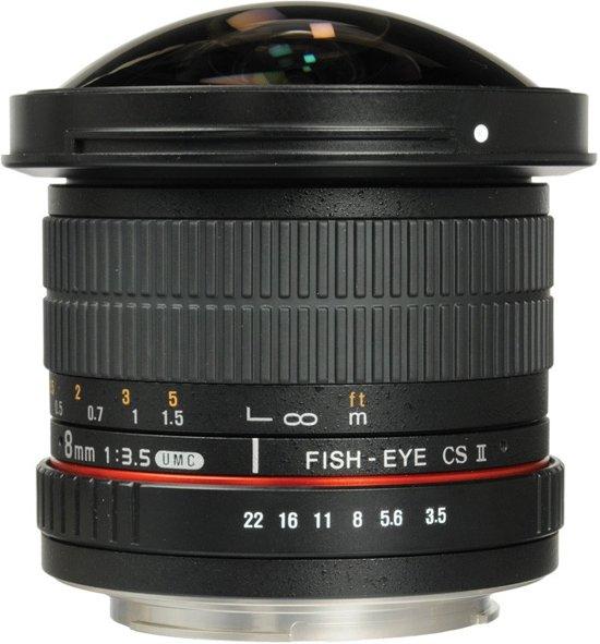 Samyang EF-S 8mm f/3.5 Fisheye MC CSII Canon