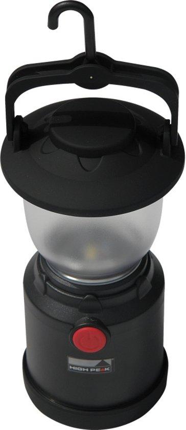 High Peak Camp Light LED - Tentlamp - Zwart