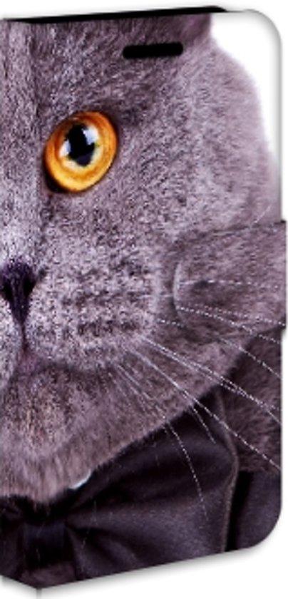 Samsung Galaxy Xcover 2 S7710 Uniek Ontworpen Hoesje Kat en Hond in Millen