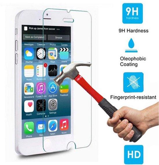 PhoneTrend® Screenprotector / Schermbescherming ECHT GEHARD GLAS voor Apple iPhone 6 (Tempered/gehard glas) in Beersterhoogen