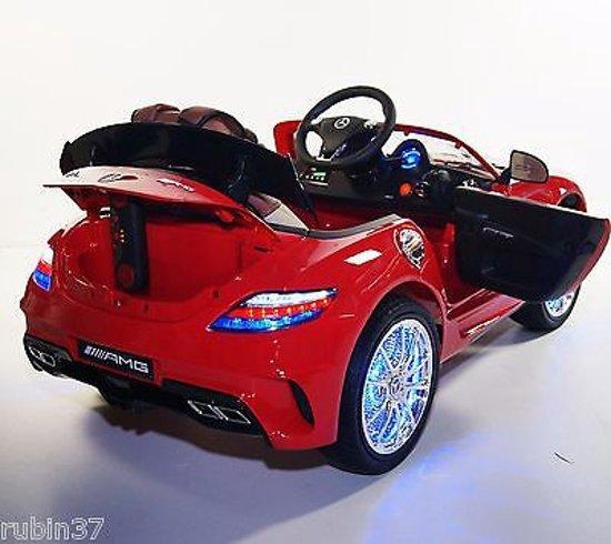 Mercedes SLS AMG PREMIUM-EDITION | Accuvoertuig / Kinderauto met Mp3 + Afstandsbediening | GRATIS VERZENDING