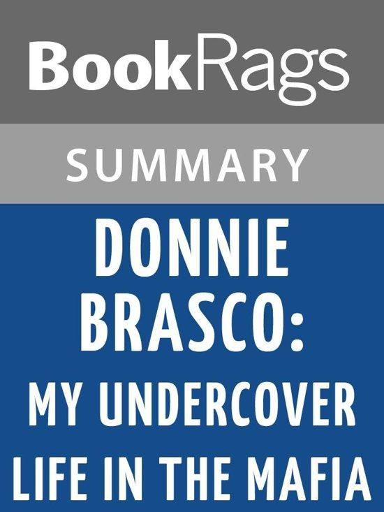 Boek cover Donnie Brasco by Joseph D. Pistone Summary & Study Guide van Bookrags (Onbekend)