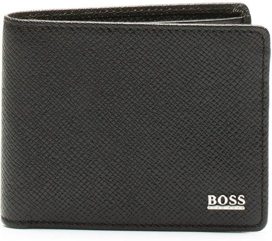 Boss Portemonnee Heren.Bol Com Boss Signature Black Billfold Portemonnee Zwart
