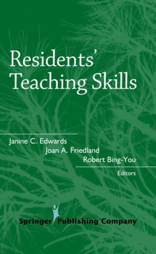 Residents' Teaching Skills