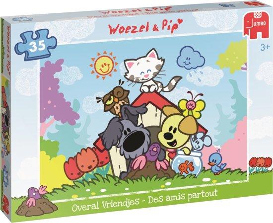 Woezel & Pip Overal Vriendjes Puzzel 35 Stukjes