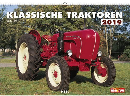Kalender Classic Tractors