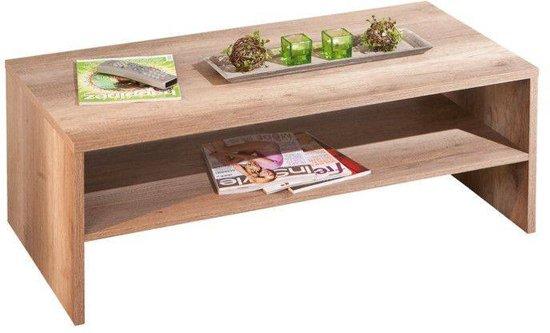 Woonkamer Zonder Salontafel : Bol interlink sas absoluta salontafel in wild eiken decor