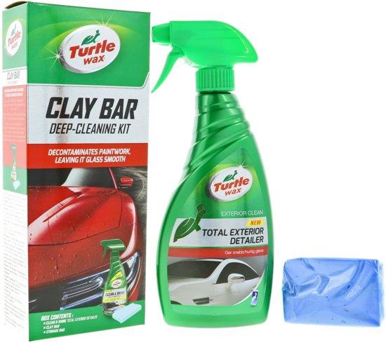 Turtle Wax Clay Bar Diepe Reinigings Kit
