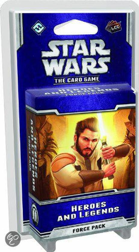 Afbeelding van het spel Star Wars Lcg: Heroes and Legends Force Pack