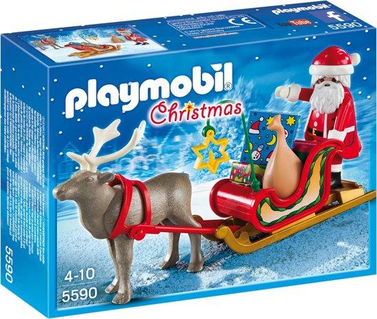 Playmobil Kerstman met rendierslee - 5590