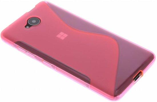 Le Cas De Tpu De Ligne De Rose Pour Microsoft Lumia 950 TM0rZC