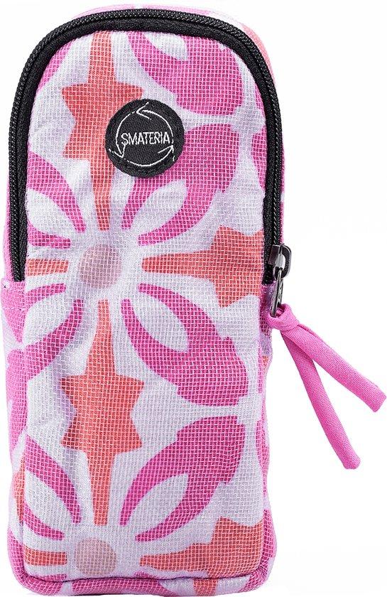 9910d7ae93c3d6 Smateria Brillenkoker Goggles roze oranje gemaakt van gerecycled net
