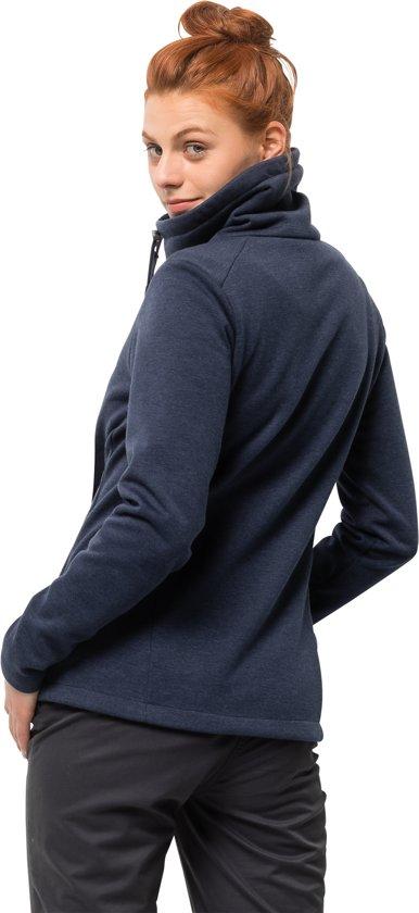 Dames Fleecevest Maat Thermic Blauw Women L Sky Jacket Wolfskin Jack C1qXw4c