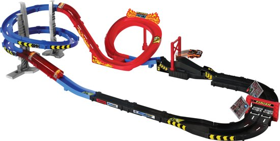 VTech Turbo Force Racers Super Racetrack Set - Racebaan