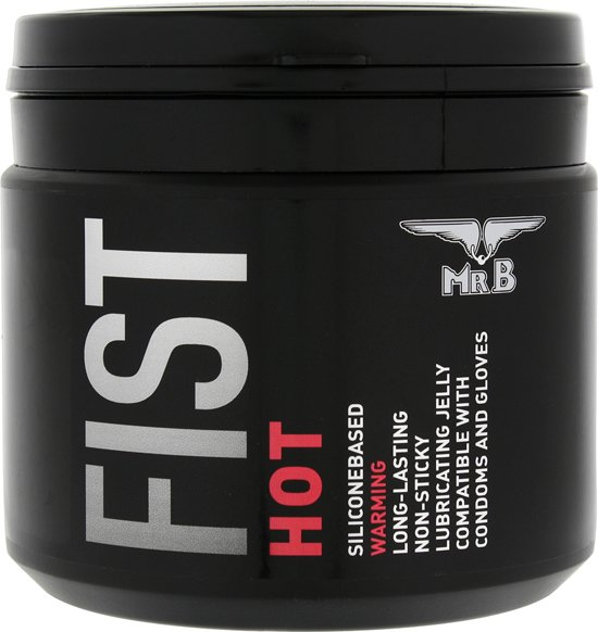 Mister B Fist Hot Glijmiddel Warm 500ml