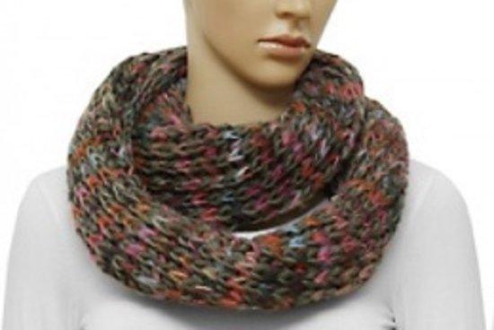 Sjaal 'Loop' gekleurd