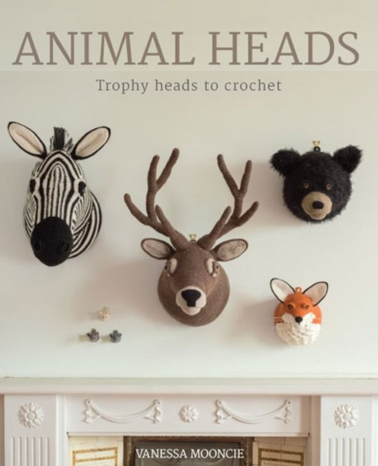 Bolcom Animal Heads Vanessa Mooncie 9781784940645 Boeken
