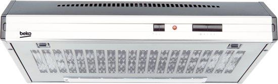 Beko CFB6432XG - Onderbouw Afzuigkap - RVS