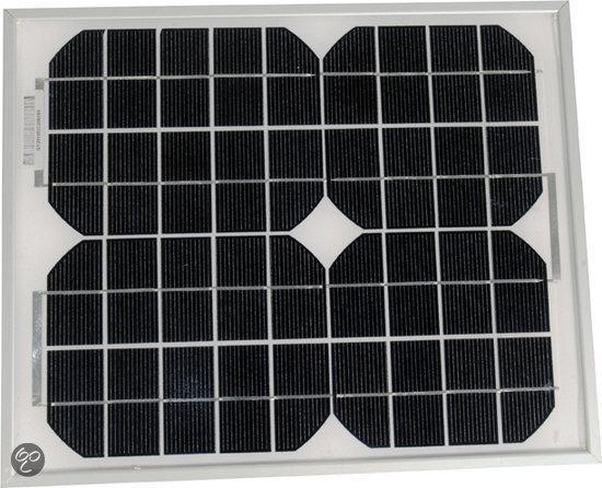 Soul Solar Panel - 35 x 28.5 x 2.5 cm - Zwart