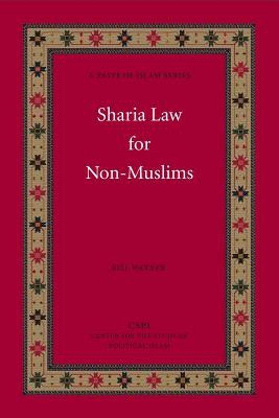 Boek cover Sharia Law for Non-Muslims van Bill Warner (Paperback)