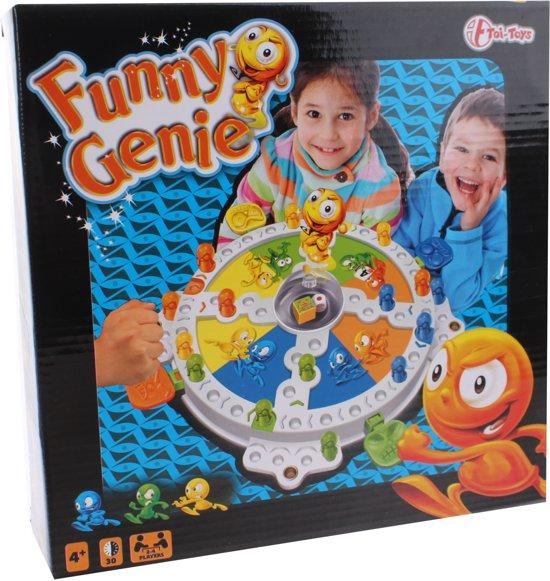Afbeelding van het spel Toi-toys Funny Genie Mens Erger Je Niet