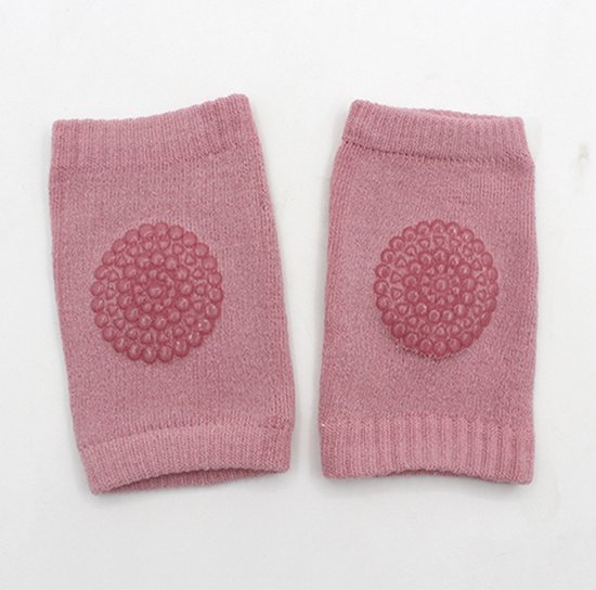 Baby kniebeschermers | anti slip | one size | roze