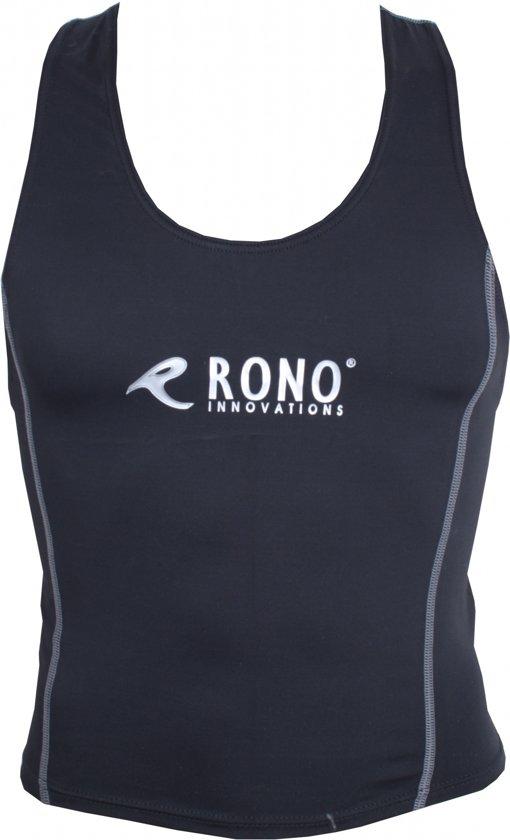 Rono Triathlon Top Heren Zwart Maat Xl