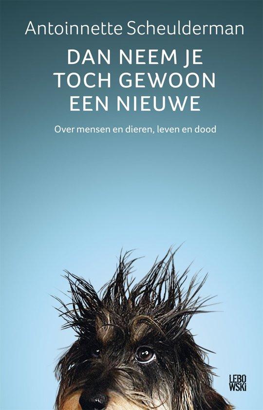 Boek cover Dan neem je toch gewoon een nieuwe van Antoinnette Scheulderman (Onbekend)