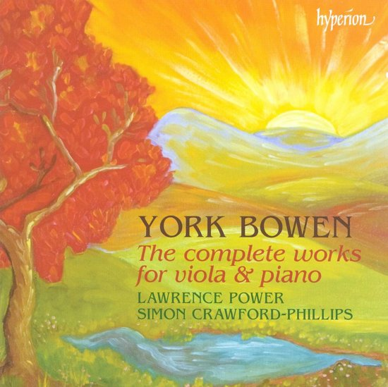 Bowen: The Complete Works For Viola And Piano