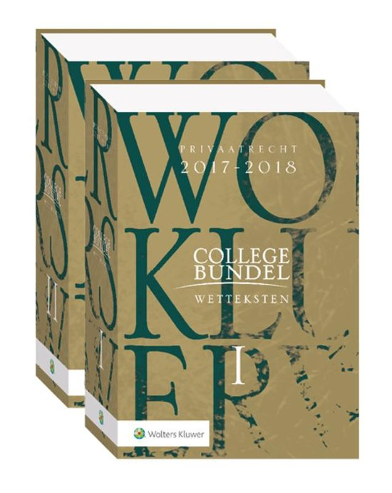 Wolters Kluwer Collegebundel 2017/2018