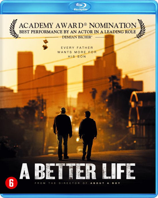 DVD cover van Better Life