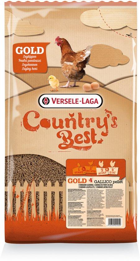 Versele-Laga Country's Best Gold 4 Gallico Pelletlegkorrel - 5 KG