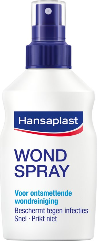 Hansaplast Wondspray Wondreiniging - 100 ml