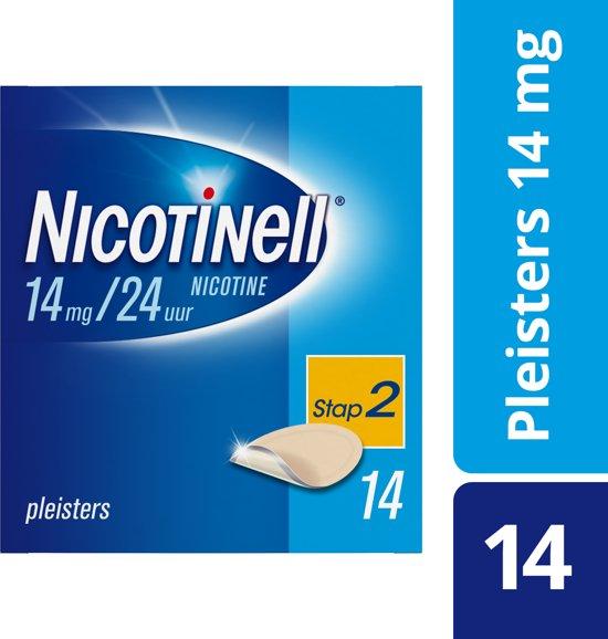 Nicotinell Pleisters TTS 20 - 14 mg - 14 Stuks