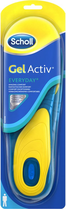 Scholl Voetzolen Gel Activ Everyday Man - 1 paar