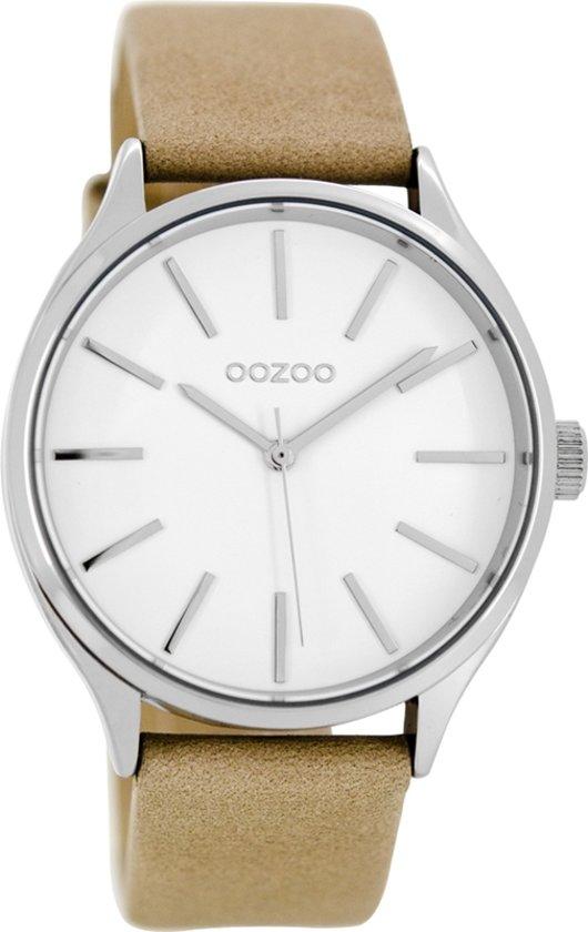 OOZOO Timepieces Camel/Wit Horloge C8626