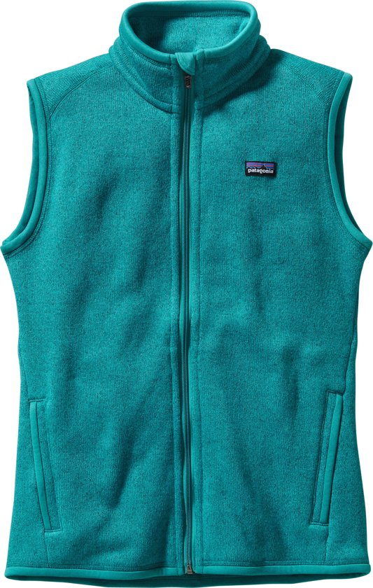 Better Bodywarmer Patagonia Dames Groen M W's Fleece Sweater blauw Vest 55Wqn7P